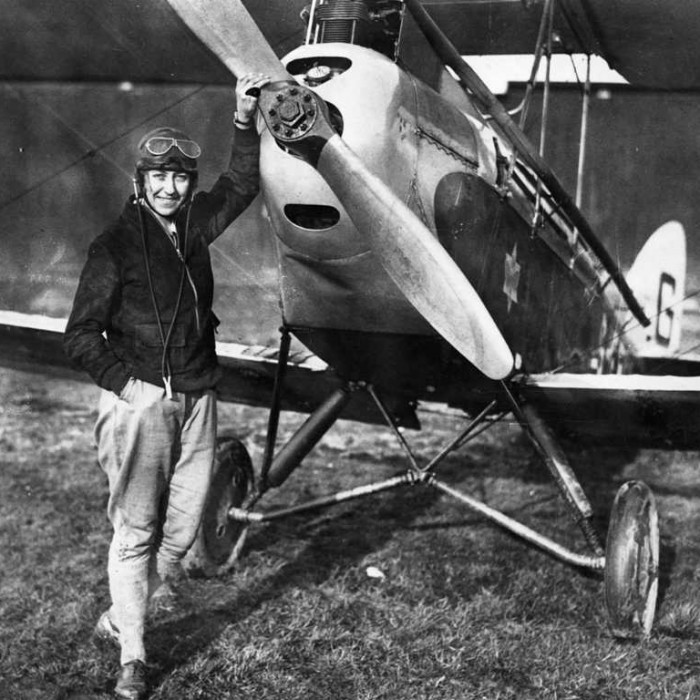 FLASHBACK HDM ARCHIVE LIBRARY IMAGES Subject - Hull born pioneer aviator, Amy Johnson COPYRIGHT BELONGS TO - HDM Date - 1930 Caption - Amy Johnson preparing for the flight to Australia in 1930.  Words - Amy Johnson, CBE - Born on St Georges Road in Hull in 1 July 1903 - died 5 January 1941 Was a pioneering English aviator and was the first female pilot to fly alone from Britain to Australia in a de Havilland DH60 Gypsy Moth she called Jason - G-AAAH. She left Croydon, south of London, on 5 May of that year and landed in Darwin, Northern Territory, on 24 May after flying 11,000 miles (18,000 km). Her aircraft for this flight can still be seen in the Science Museum in London.  Flying solo or with her husband, Jim Mollison, she set numerous long-distance records during the 1930s. She married Mollison in 1932, they divorced in 1938.  She flew in the Second World War as a part of the Air Transport Auxiliary and died during a ferry flight. On 5 January 1941, while flying an Airspeed Oxford for the ATA from Prestwick via Blackpool to RAF Kidlington near Oxford, Johnson went off course in adverse weather conditions. Reportedly out of fuel, she bailed out as her aircraft crashed into the Thames Estuary.